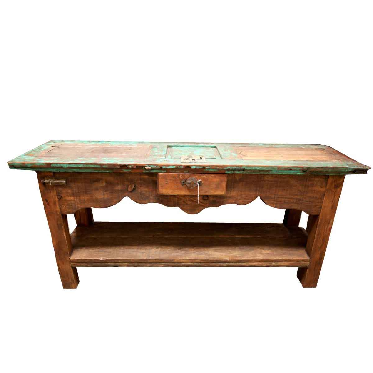 Order viejo barn wood table online for Table online
