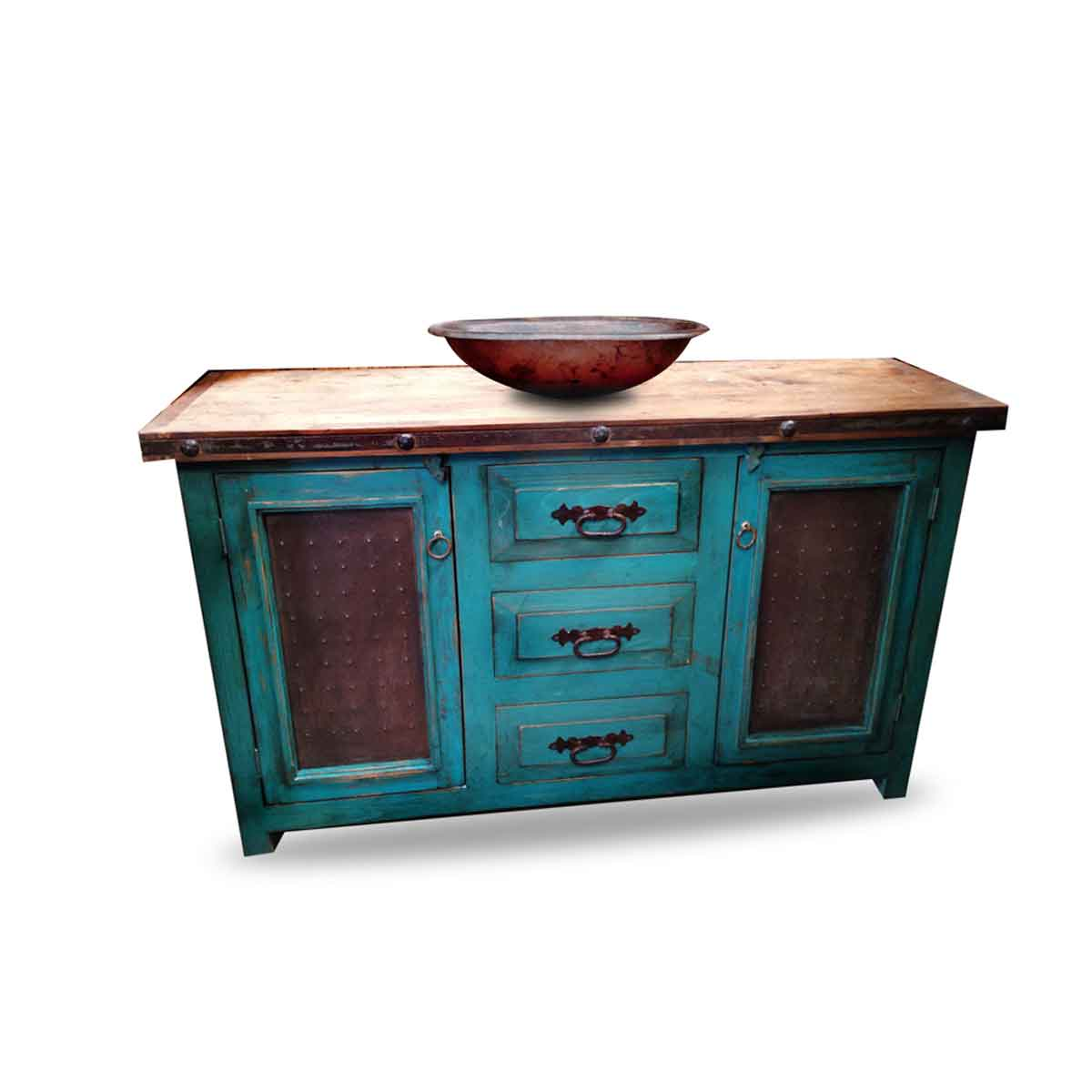 order beautiful turquoise bathroom vanity made from 100