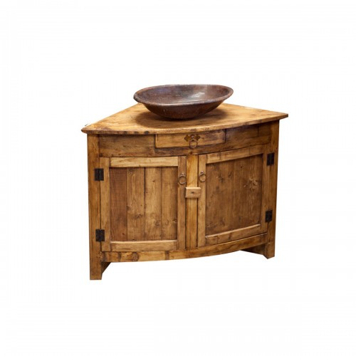 New wood vanities buy rustic bathroom vanities online - Corner bathroom vanities for sale ...