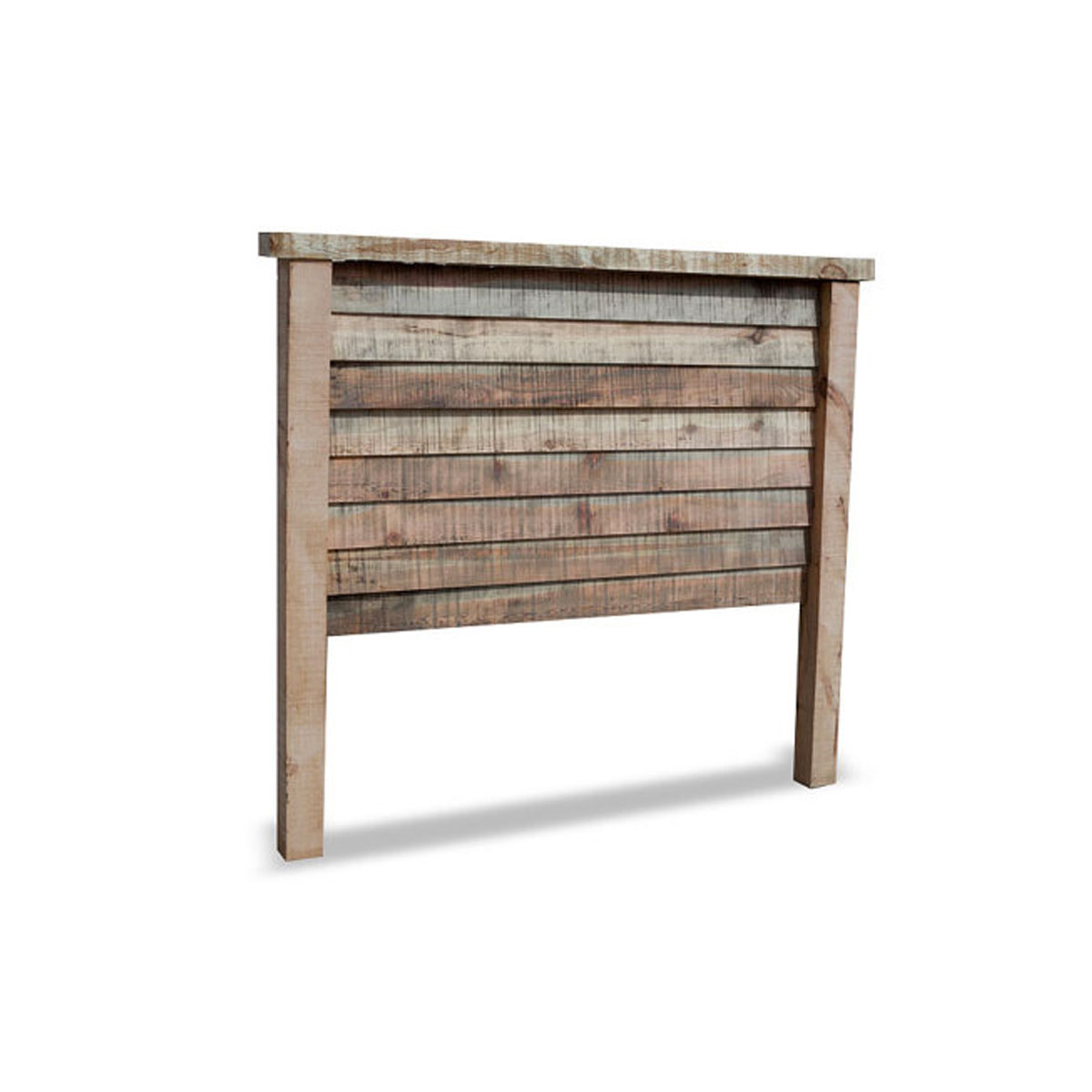 Purchase natural barnwood bed online rustic headboard for Reclaimed wood online