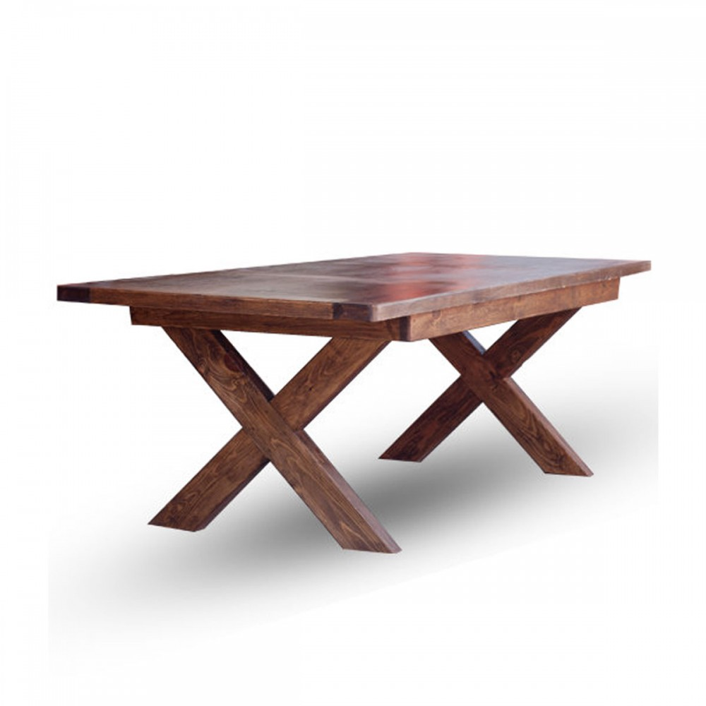 Buy Savannah Dining Table With X Style Legs Online