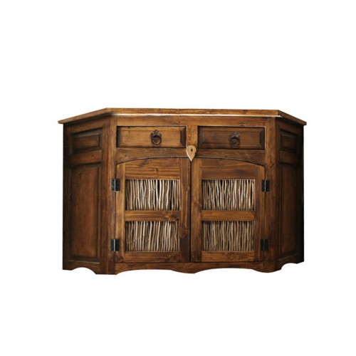 14814 - Bathroom Vanity with Twig Slats