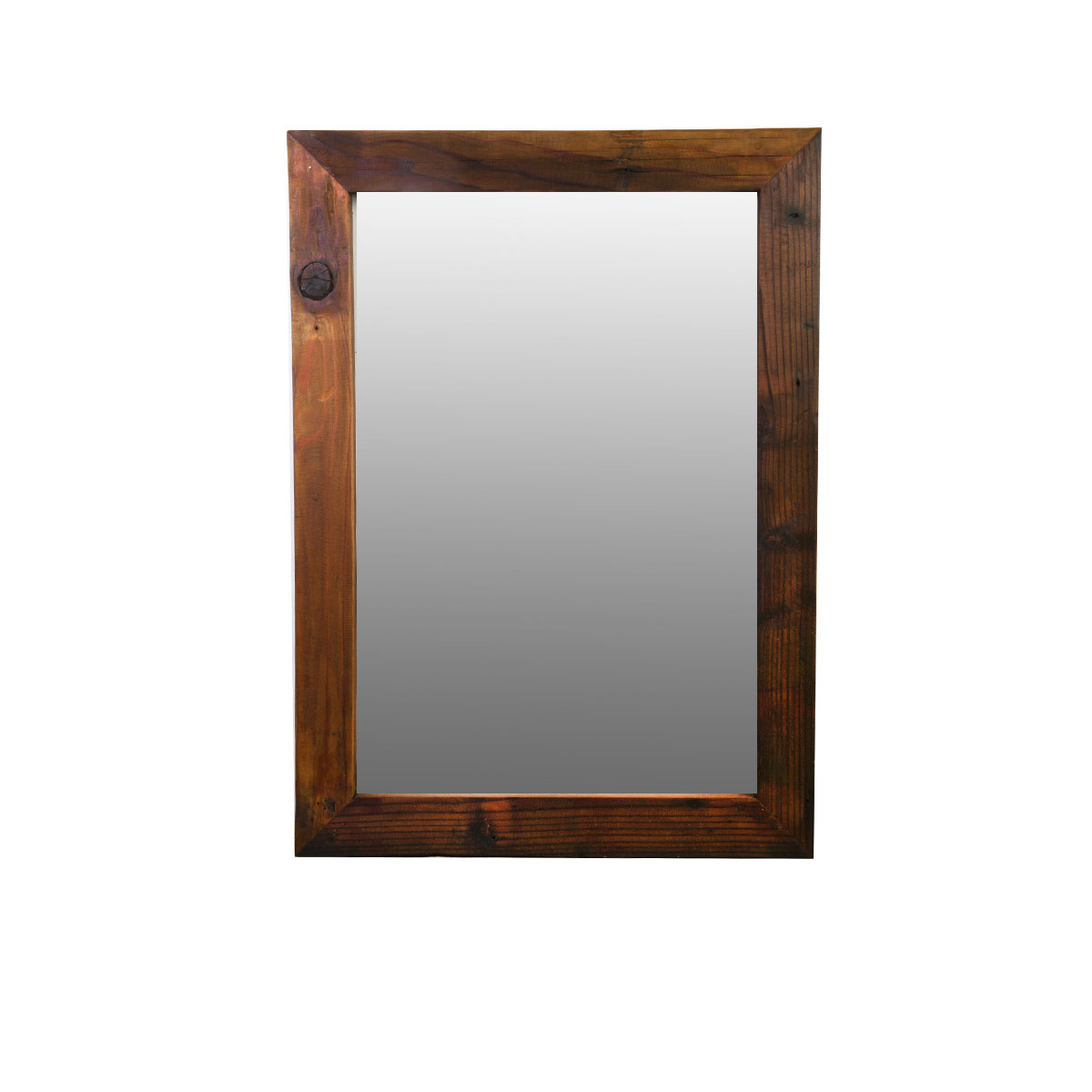 Purchase reclaimed rustic mirror with lightly distressed edges for Rustic mirror