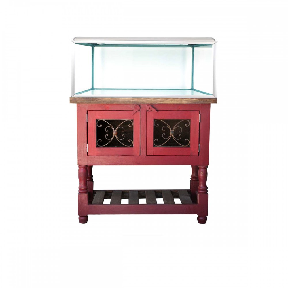 Purchase rose aquarium stand online hand crafted small for Small fish tank stand