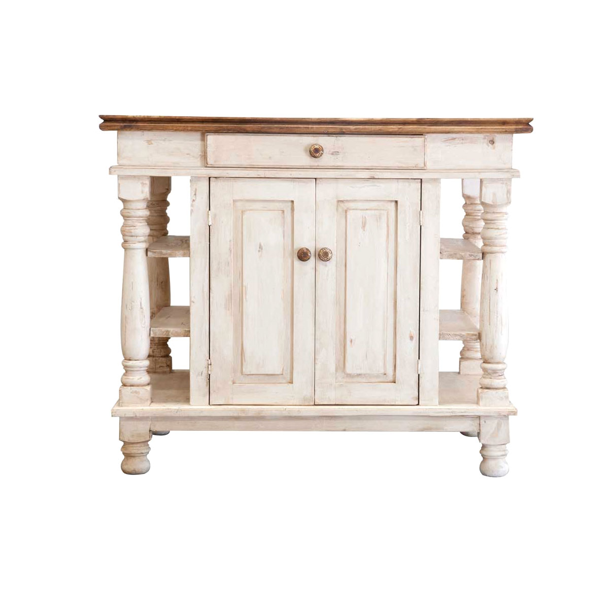Order Maritime Rustic Kitchen Island line