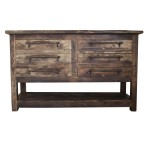 Logan rustic bathroom console