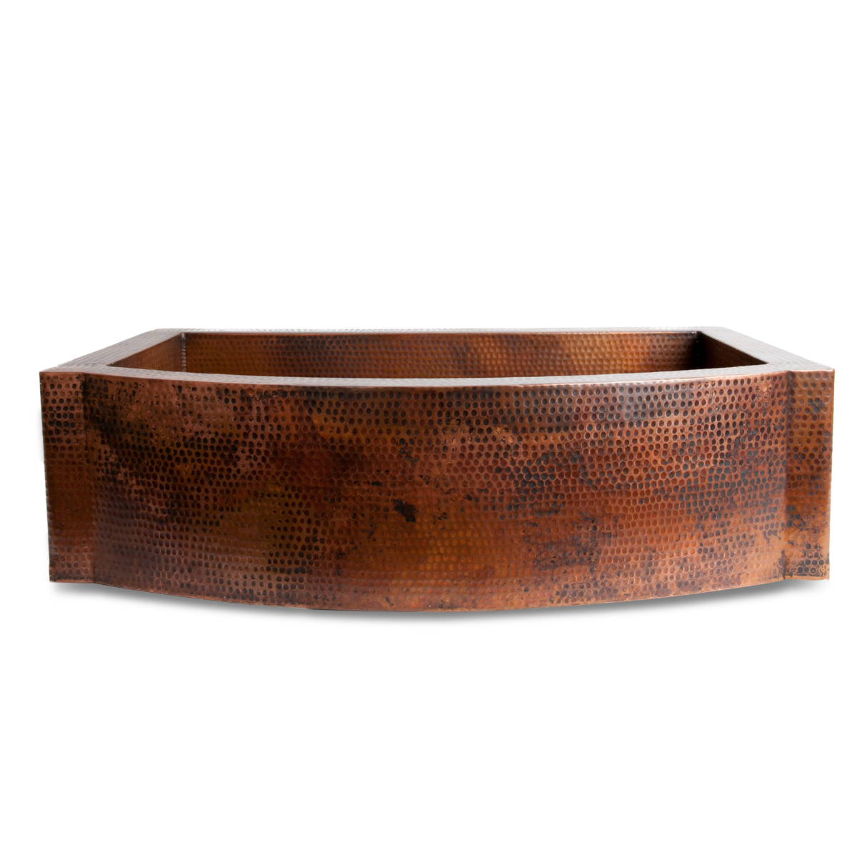 Copper Apron Front Sink : ... Rustic Bathroom Accesories / Copper Sinks / Apron Front Copper Sink
