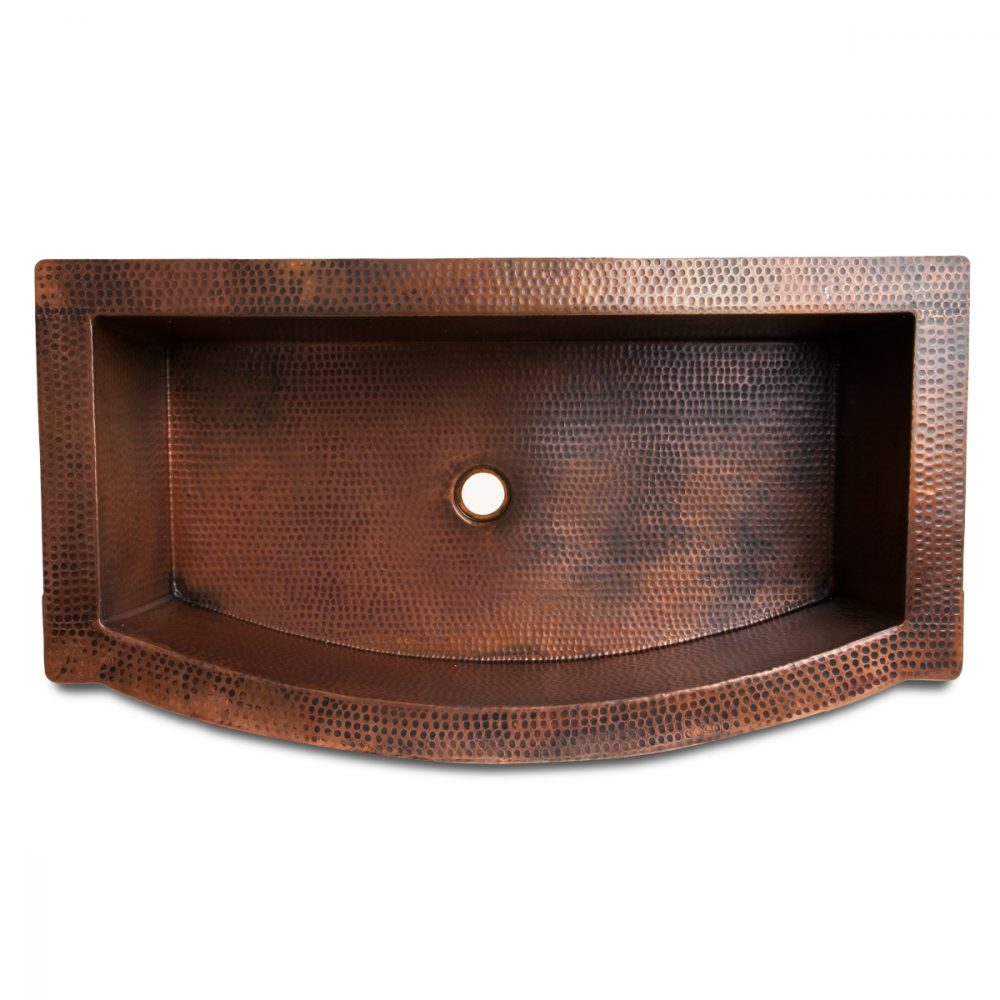 Copper Apron Front Sink : Purchase Apron Front Copper Sink Online