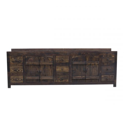 Buy rustic handcrafted home decor products in texas - Robertson reclaimed bathroom vanity ...