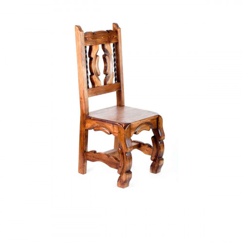 rustic dining chair