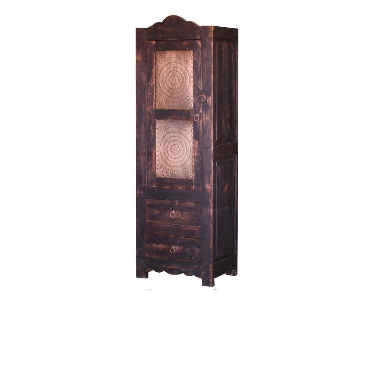 luna rustic linen cabinet