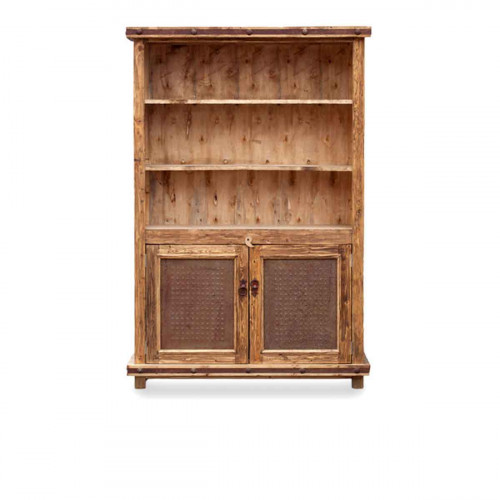 Purchase Handmade Luna Rustic Linen Cabinet With 3 Shelving Units Online