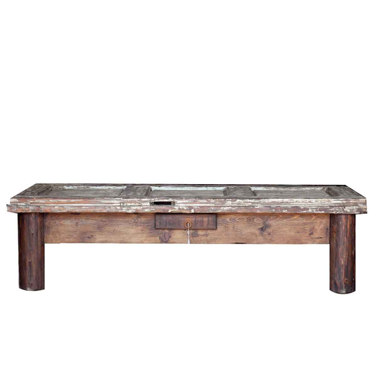 Buy beautiful reclaimed barn wood coffee table online for Reclaimed teak wood coffee table
