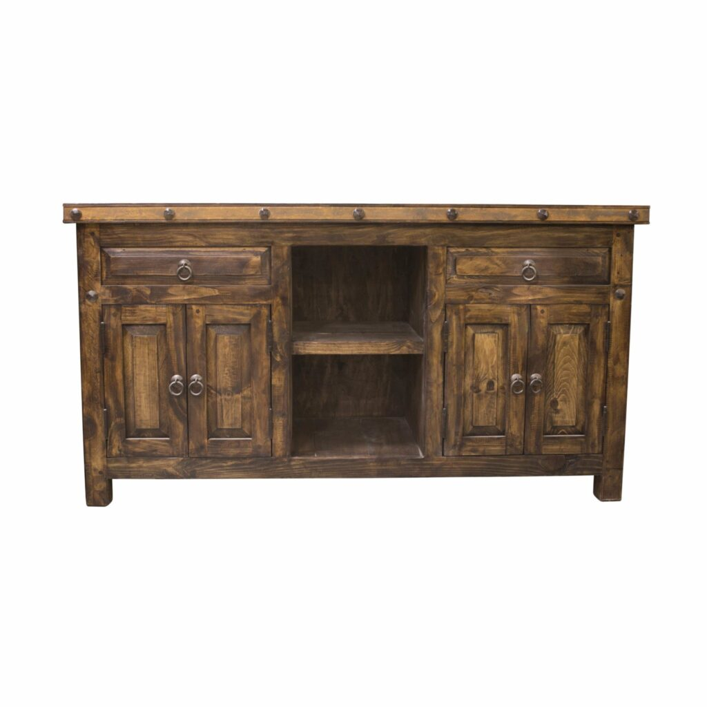 Order Handcrafted Reclaimed Double Sink Vanity With Two