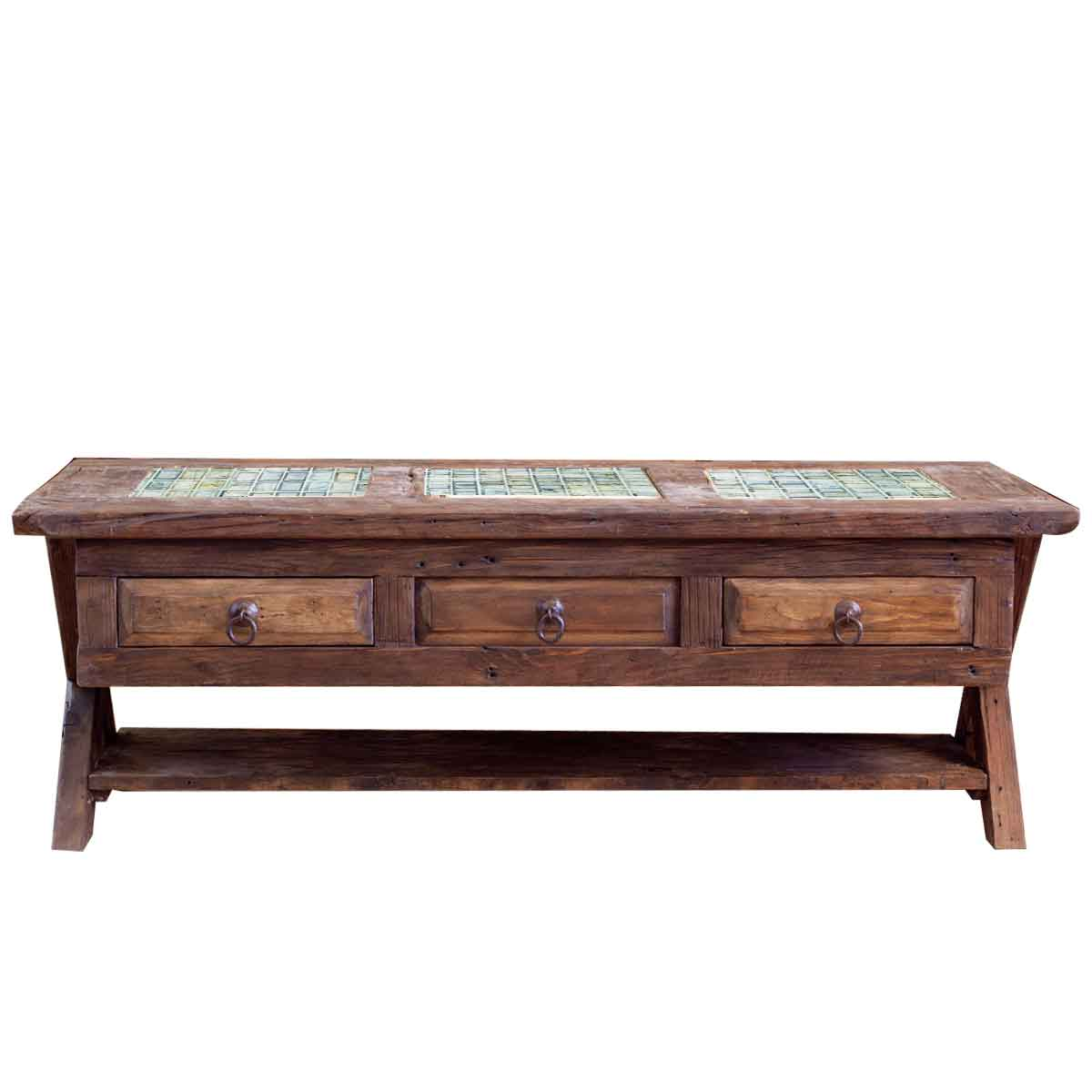Order reclaimed coffee table with hideaway online Coffee tables online