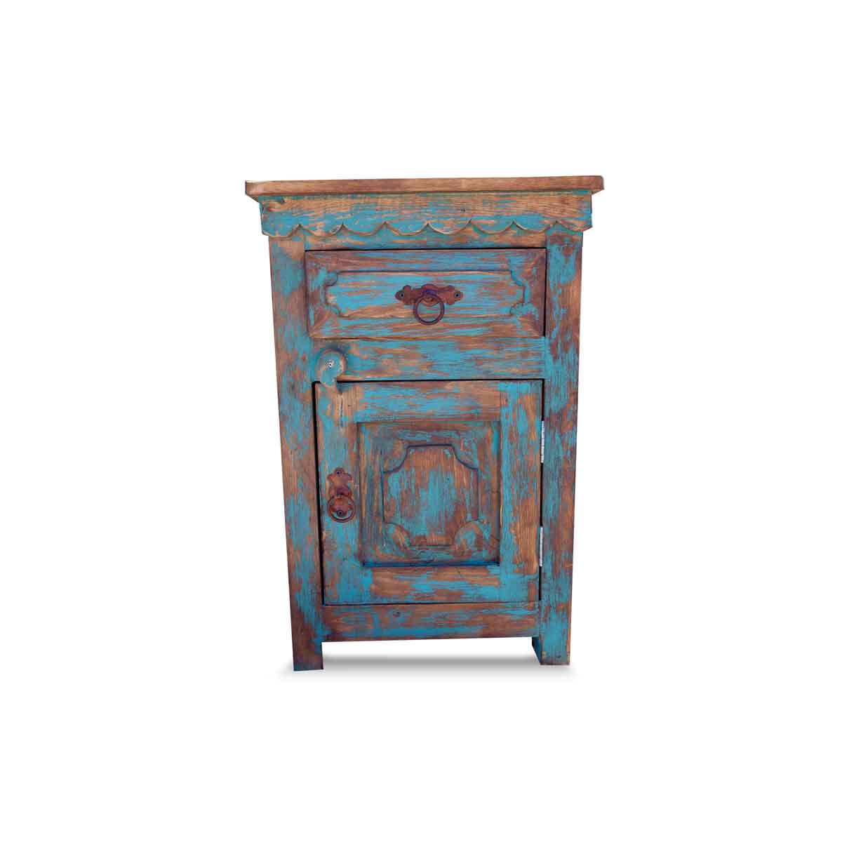turquoise night stand