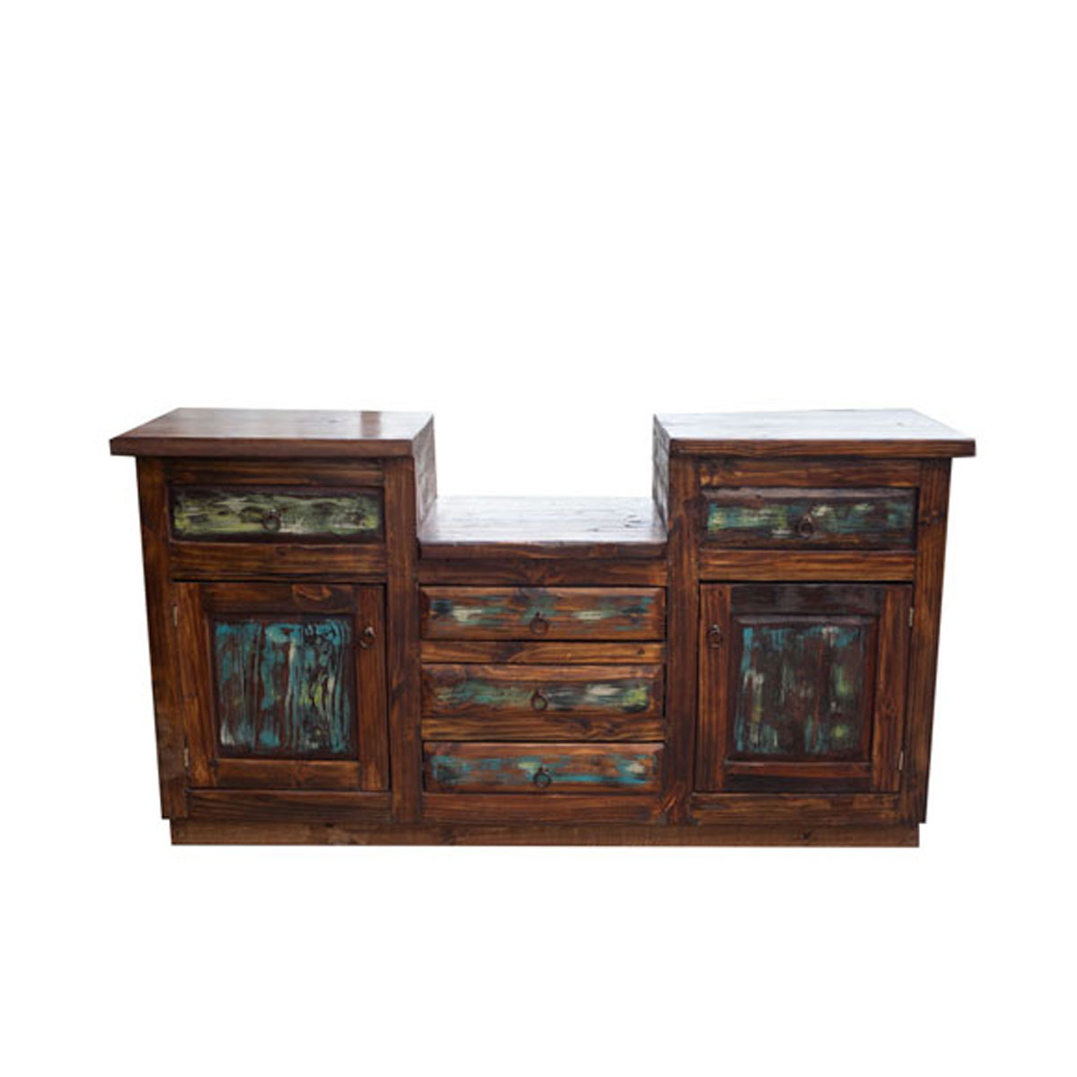 Buy Colored Barnwood Double Sink Vanity For Master