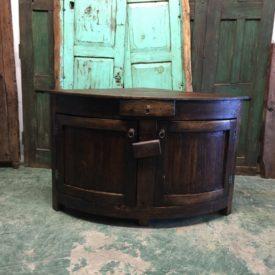 Able rustic corner vanity