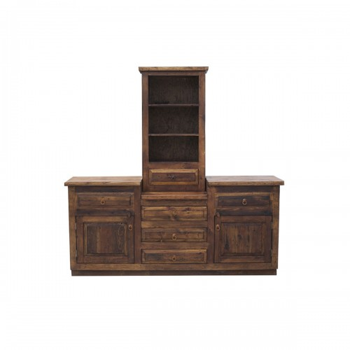 Rustic Vanity with Tower