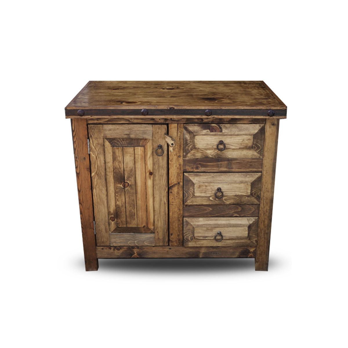 Bathroom vanities dallas tx - Cooper Rustic Bathroom Vanity