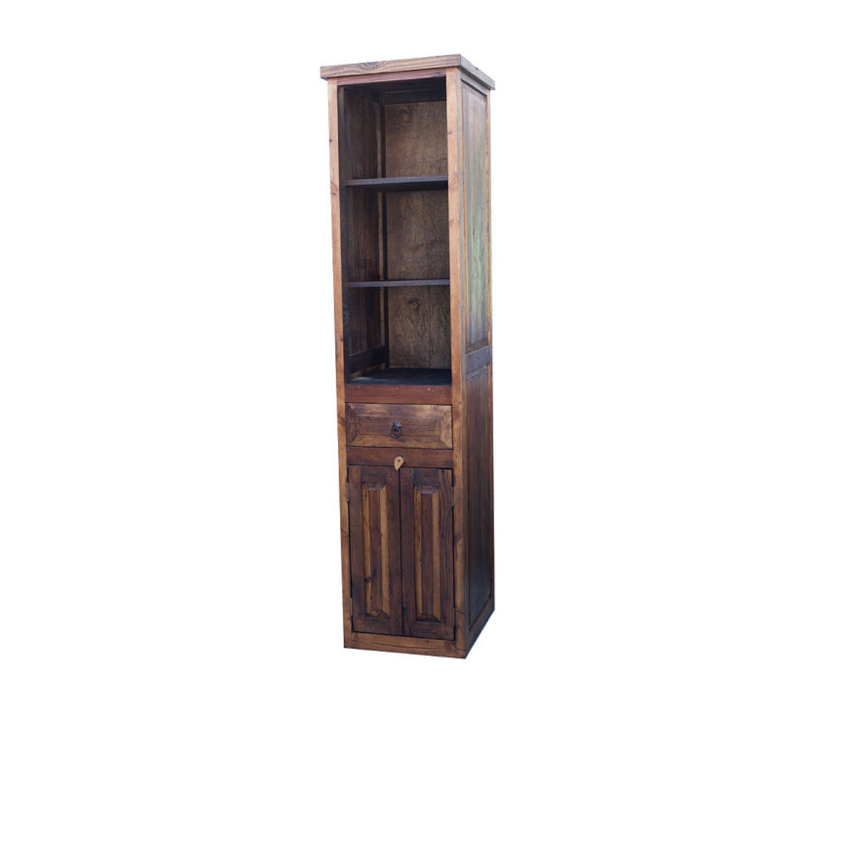 Purchase rustic linen cabinet online made from barn wood for Bathroom accessories cabinets