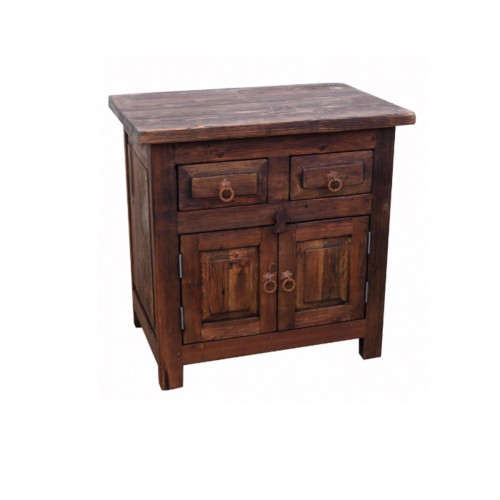 2 Drawer Rustic Bathroom Vanity