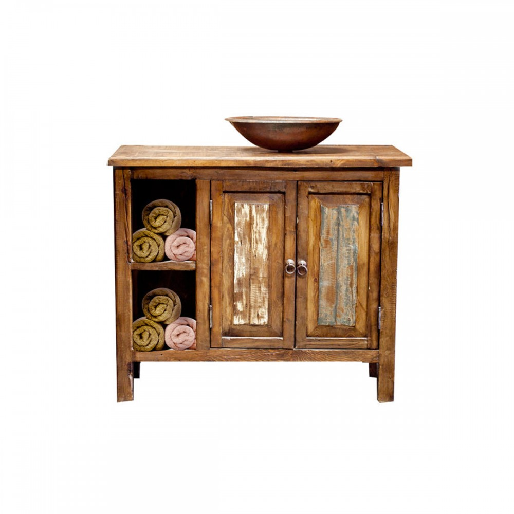 Toillero rustic bathroom vanity