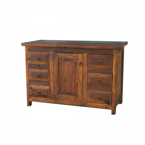 New Old Wood Rustic Bathroom Vanity 72910