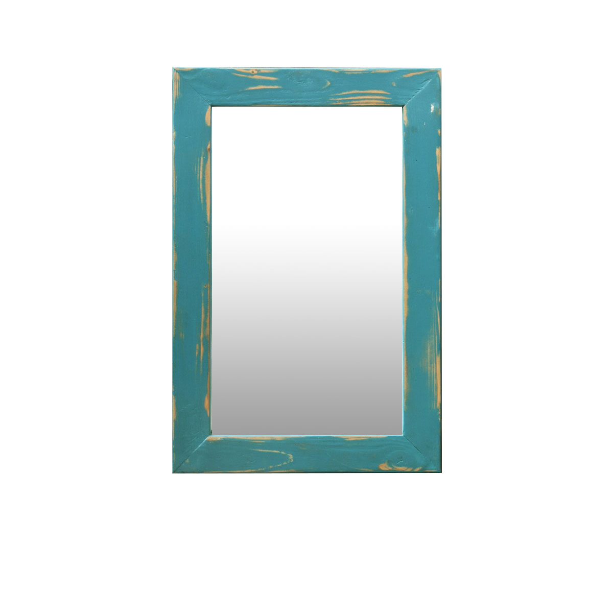 turquoise mirror