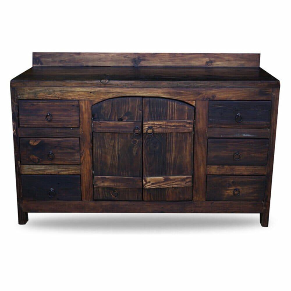 Order old world vanity from reclaimed barnwood online