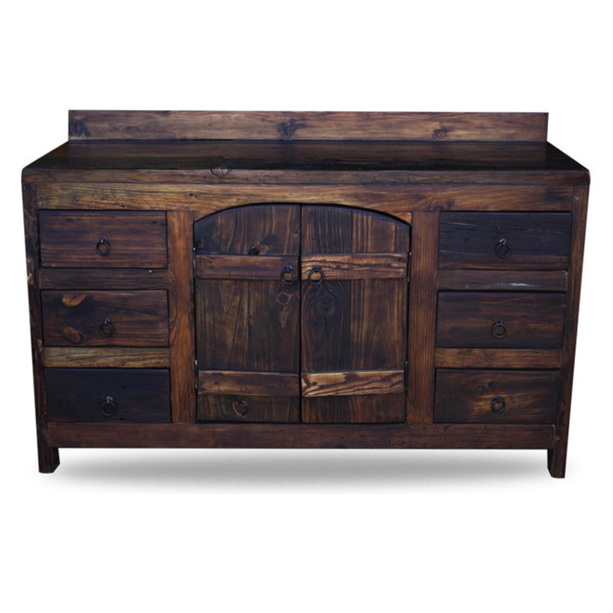 Old World Vanity from Reclaimed wood 43421 - Buy Rustic Handcrafted Home Decor Products In Texas Custom