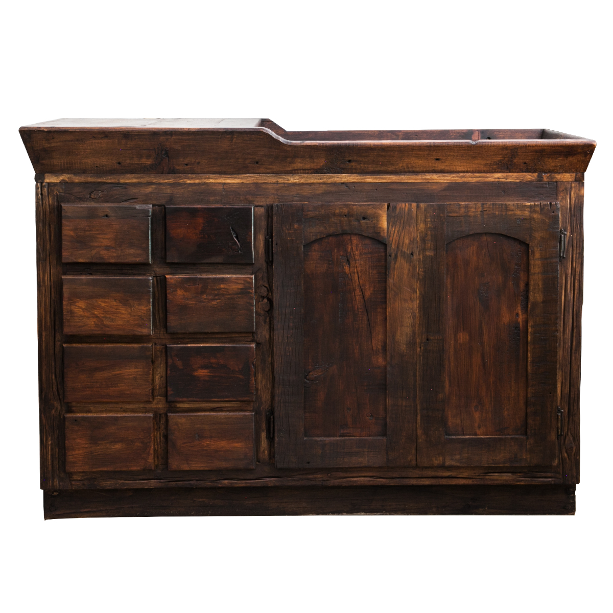 Custom Bathroom Vanities Michigan reclaimed wood vanities | buy reclaimed wood vanity online
