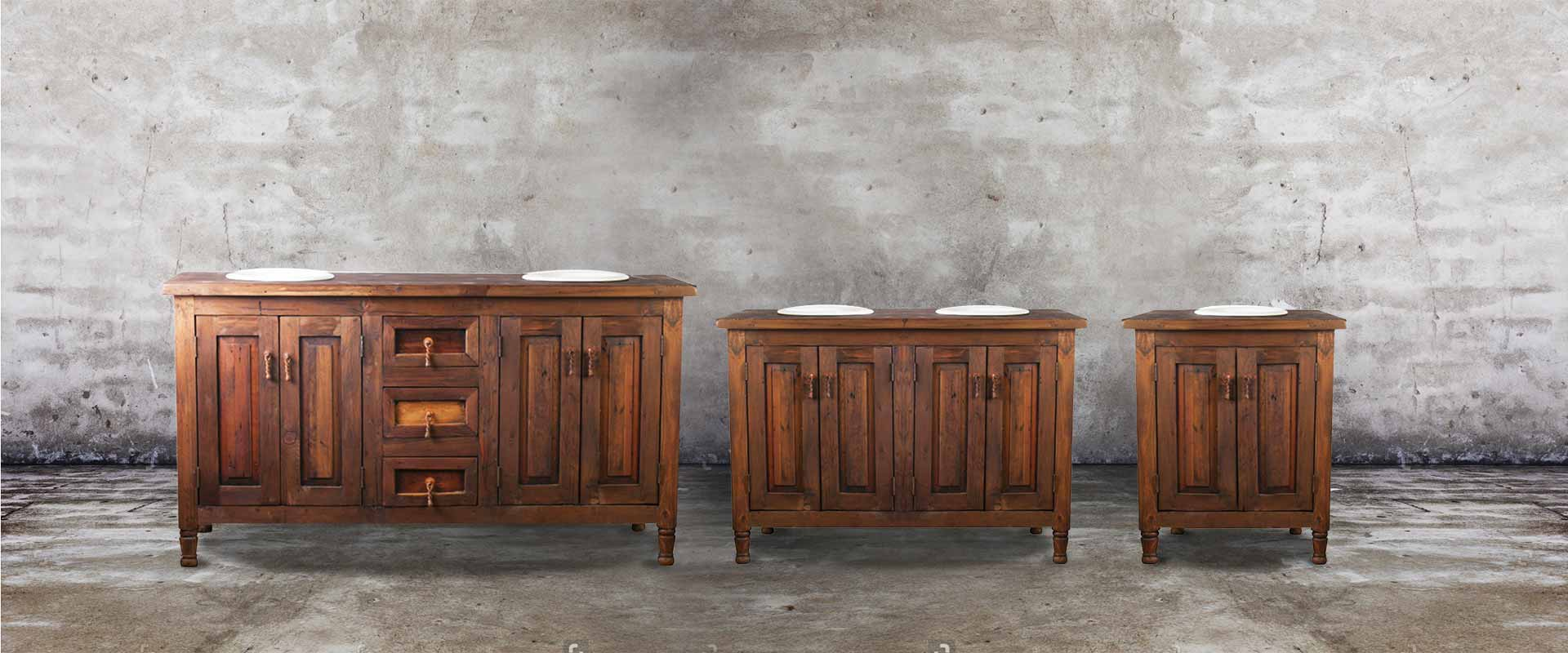 Southwest bathroom vanities - Create Any Size You Want