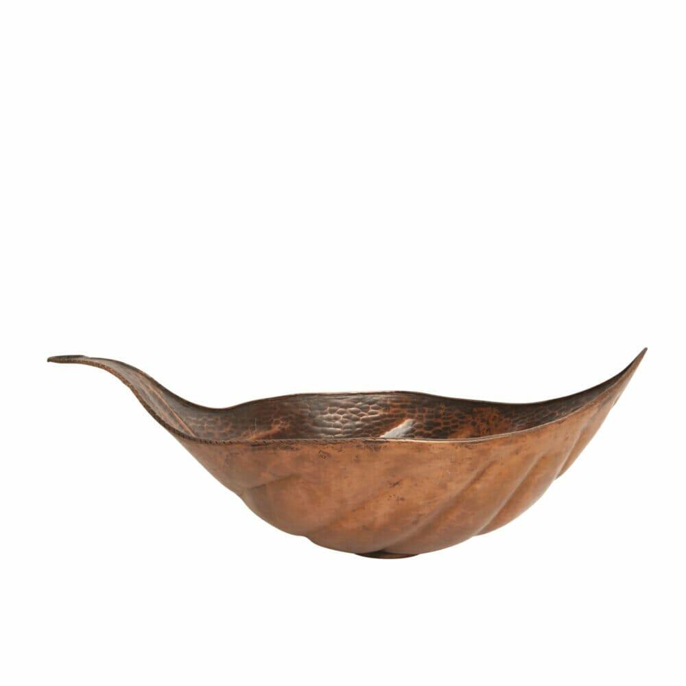 copper leaf sink