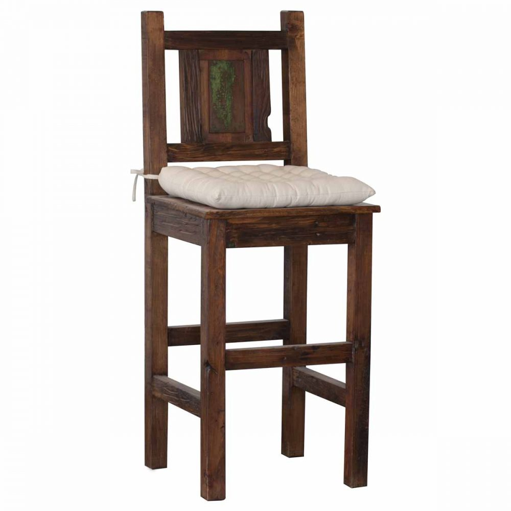 Purchase Handcrafted Rustic Sawyer Bar Stool Online