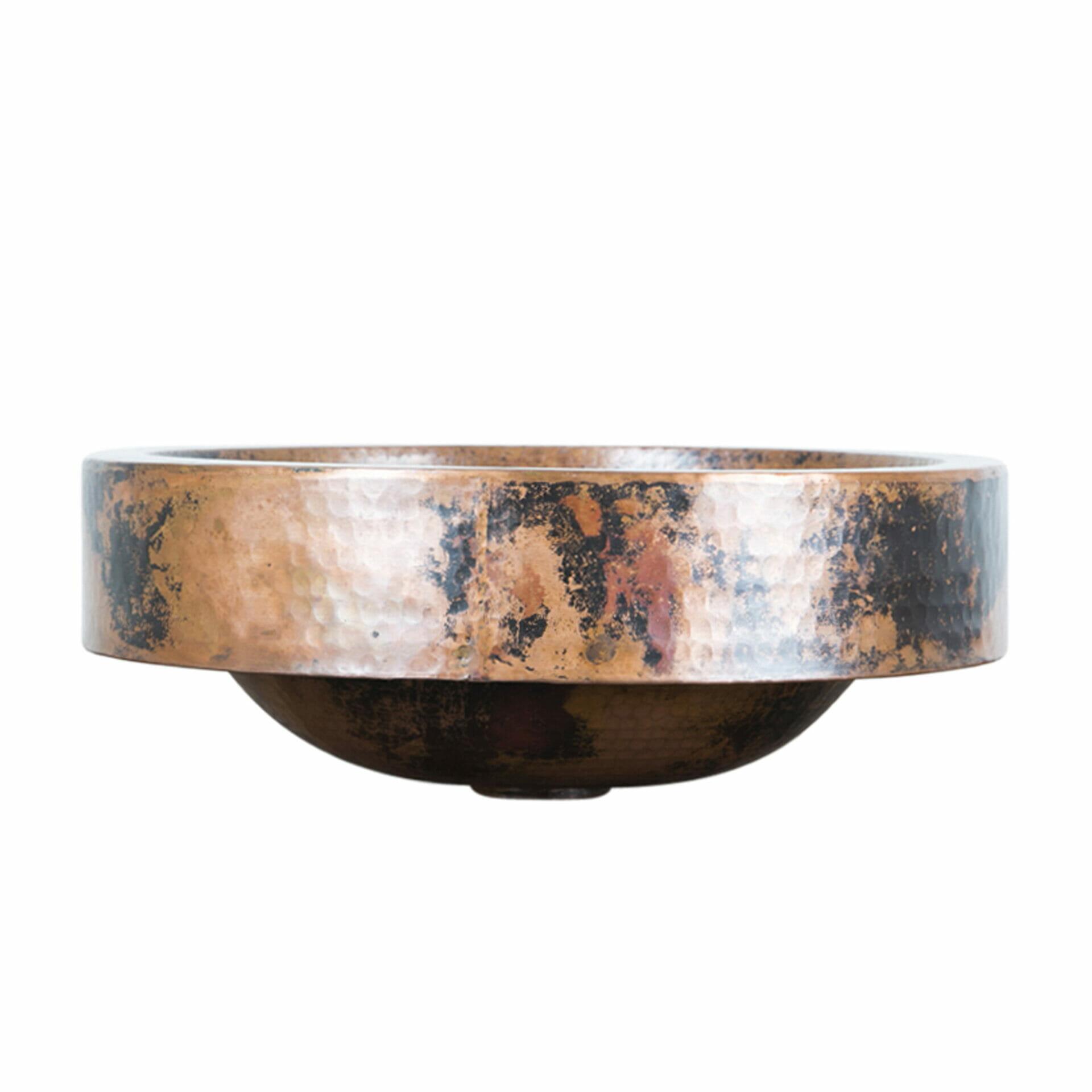 double wall copper sink