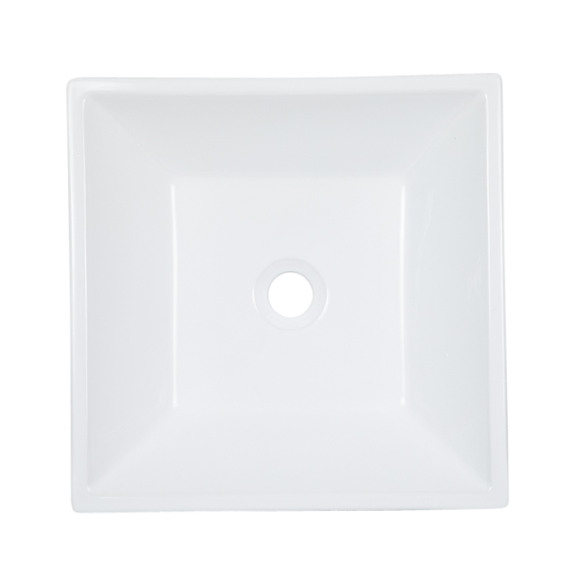 Square Vessel Ceramic Sink