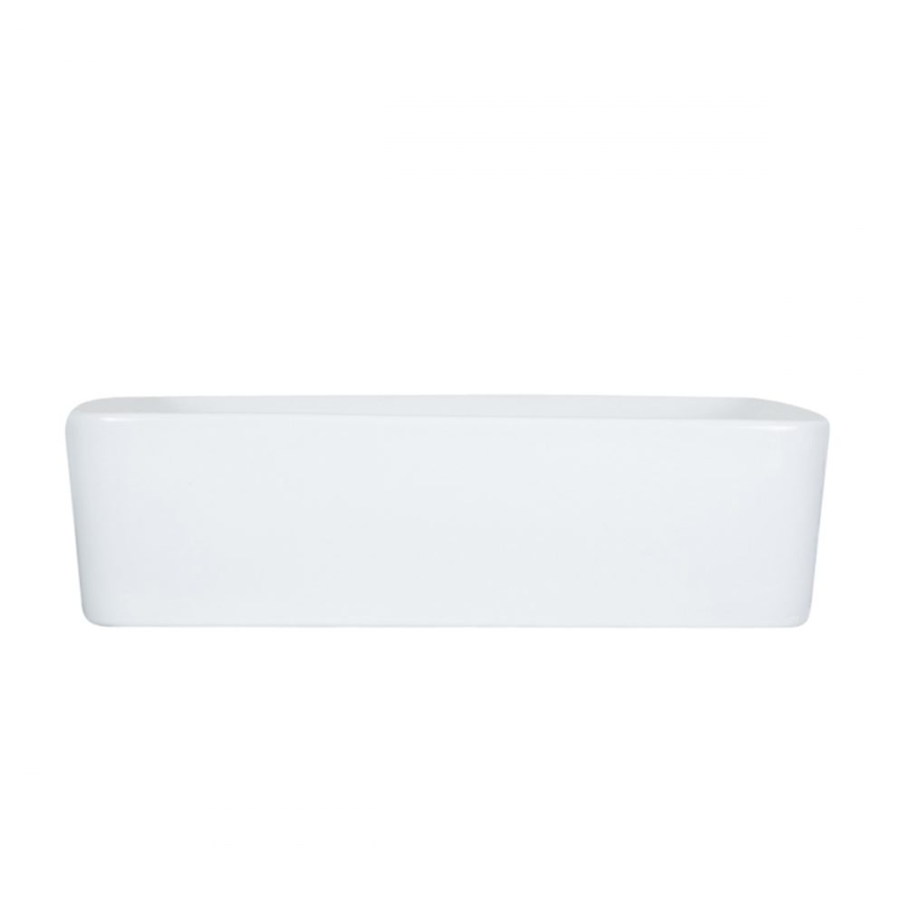 White Ceramic Vessel Sink