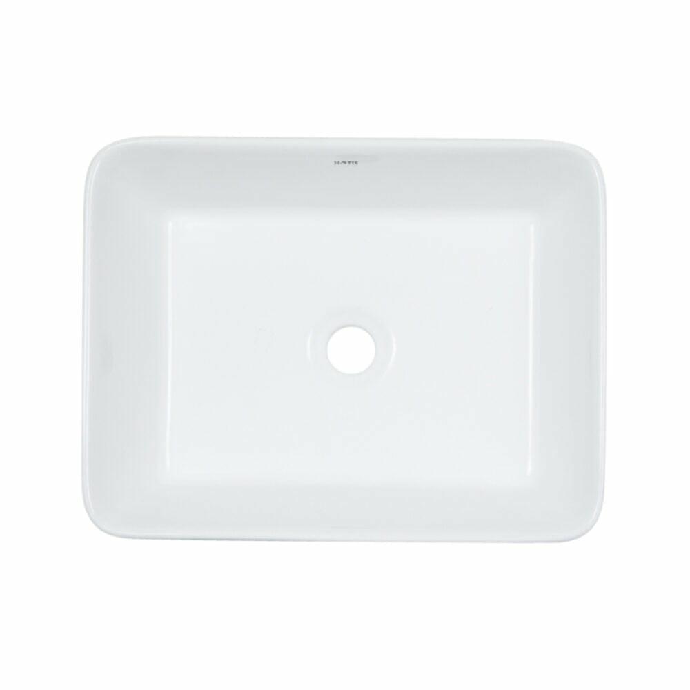 White Ceramic Vessel Sink