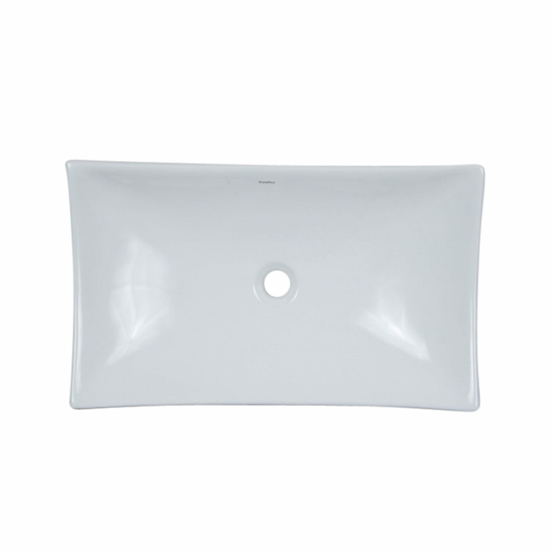 Large Rectangle Vessel Ceramic Sink