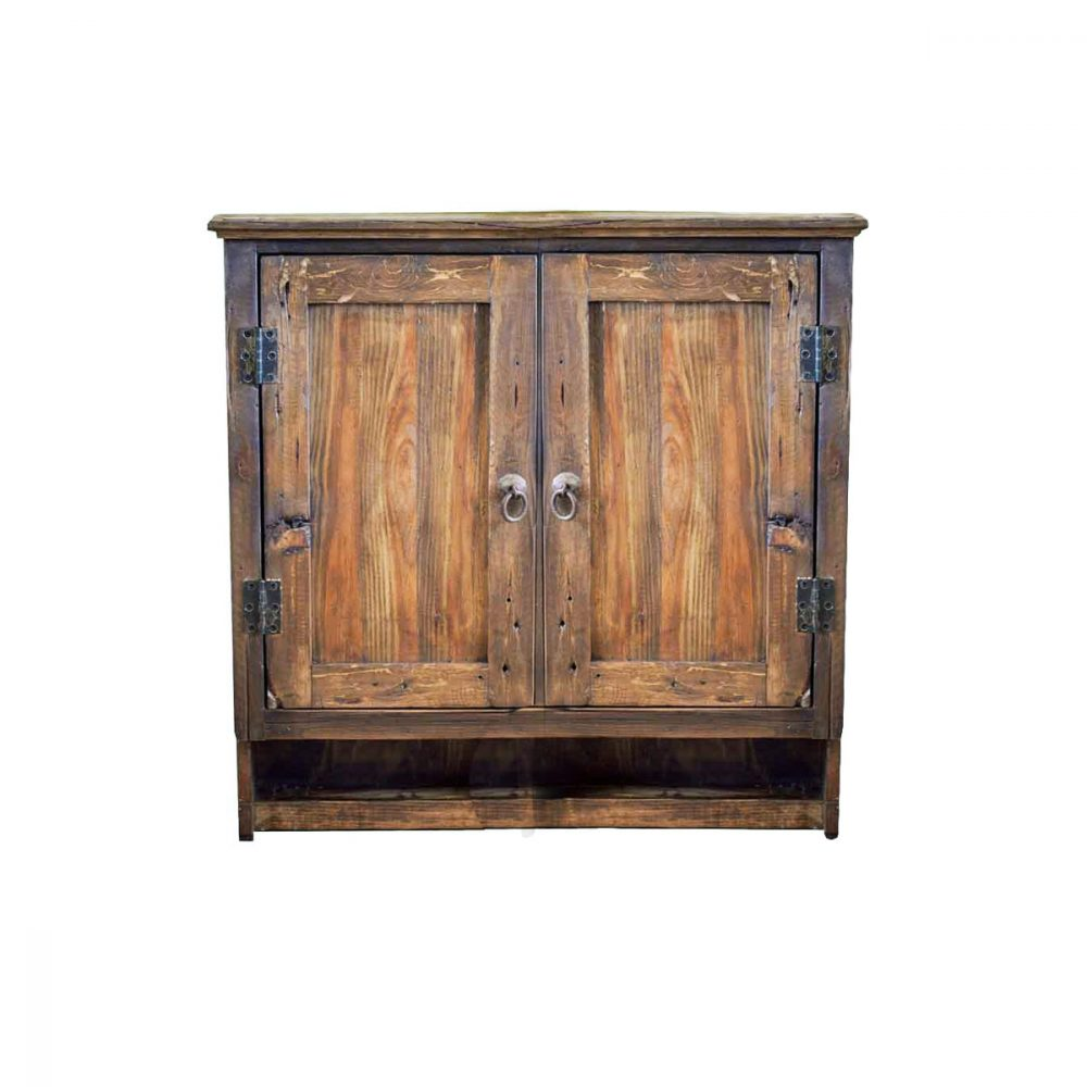 Double Door Unit Made From 100% Old Wood