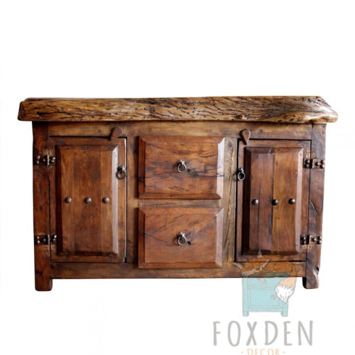 Double Sink Barnwood Vanity For Sale