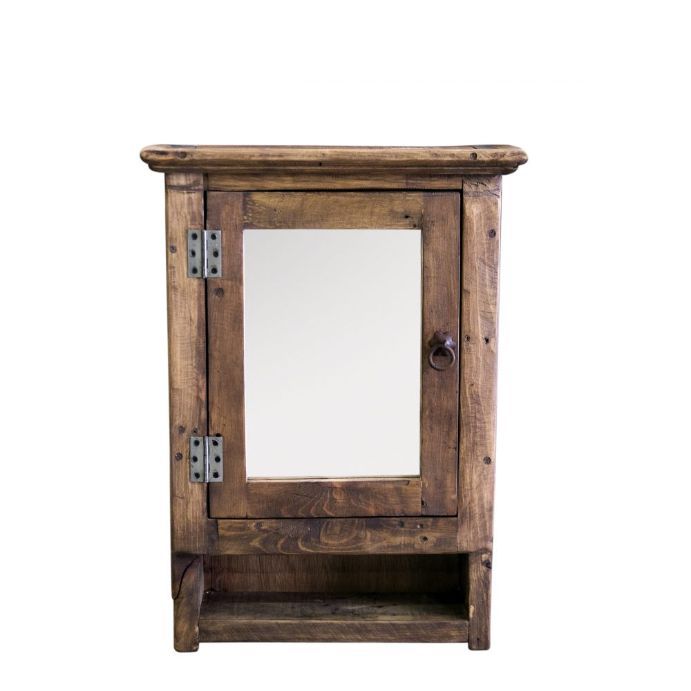 Purchase Reclaimed Medicine Cabinet With Mirror Online Made From 100 Old Wood