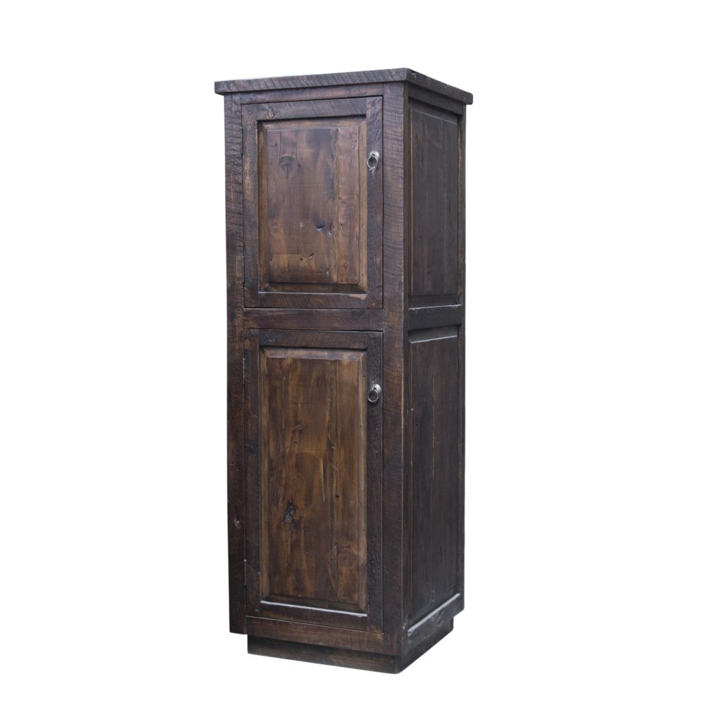 Alto Rustic Reclaimed Linen Cabinet On Sale