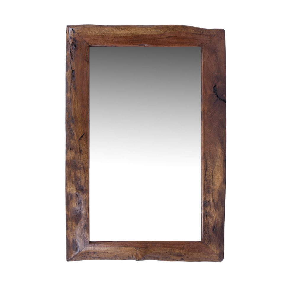 Buy live edge mesquite mirror online for Rustic mirror