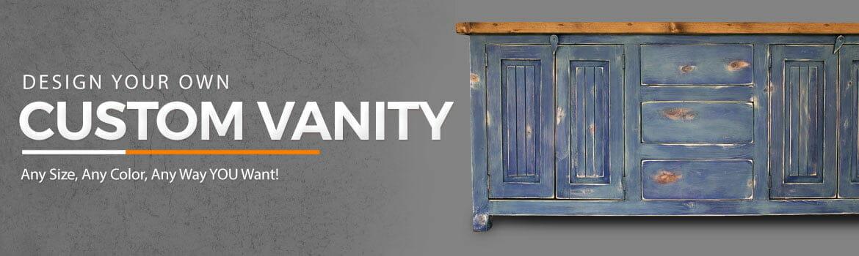 build your own vanity