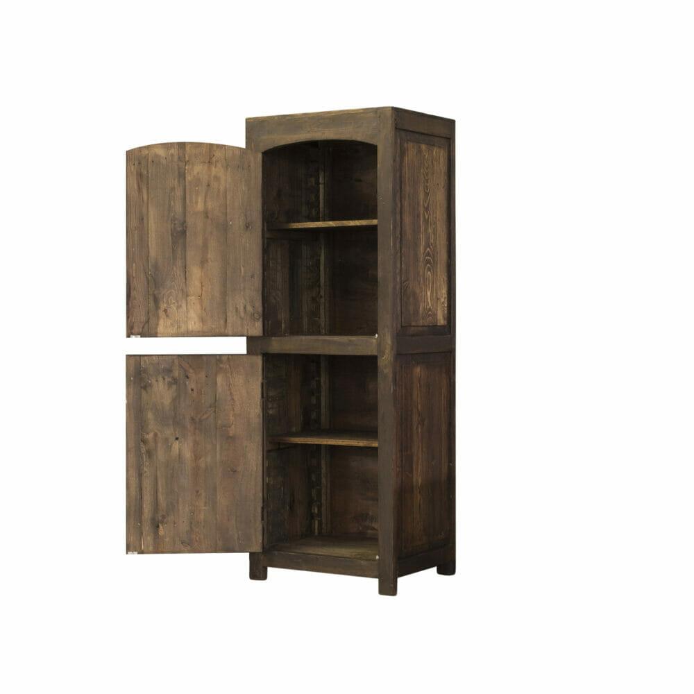 old world linen cabinet