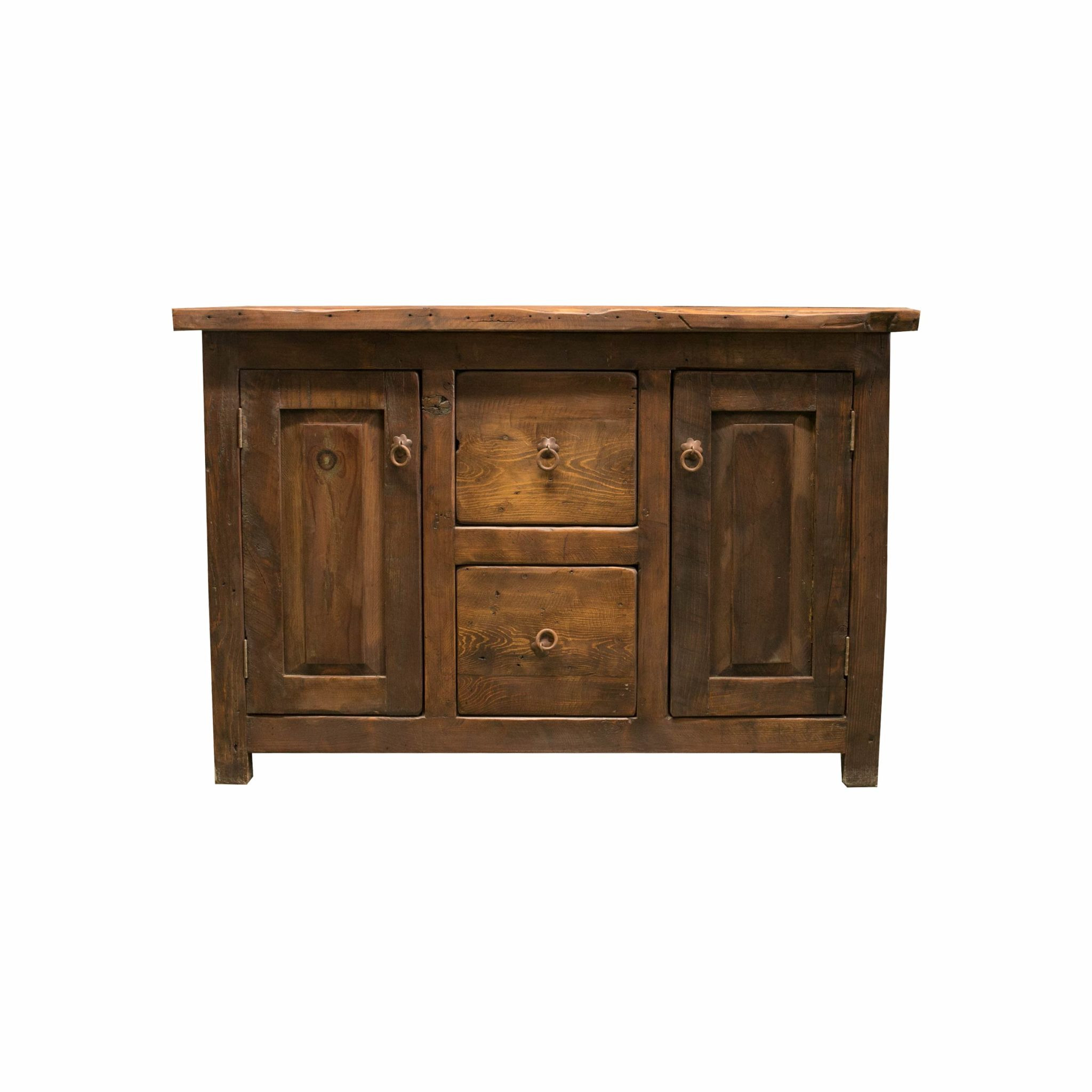 rustic barnwood vanity