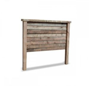 Natural Barnwood Bed