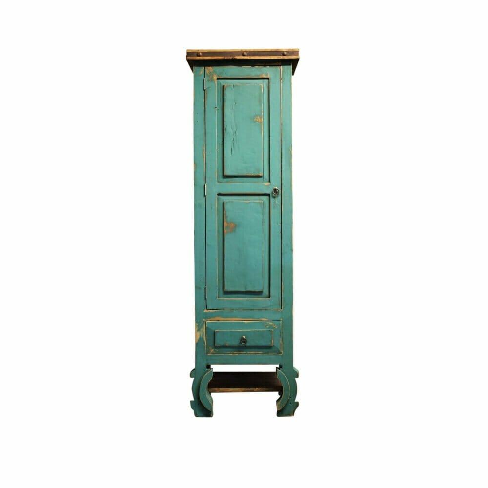 rustic linen cabinet
